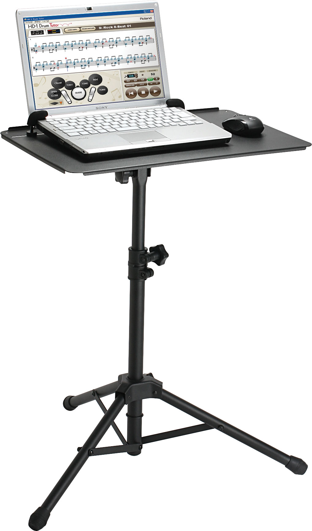 roland india ss pc1 support stand for pc. Black Bedroom Furniture Sets. Home Design Ideas