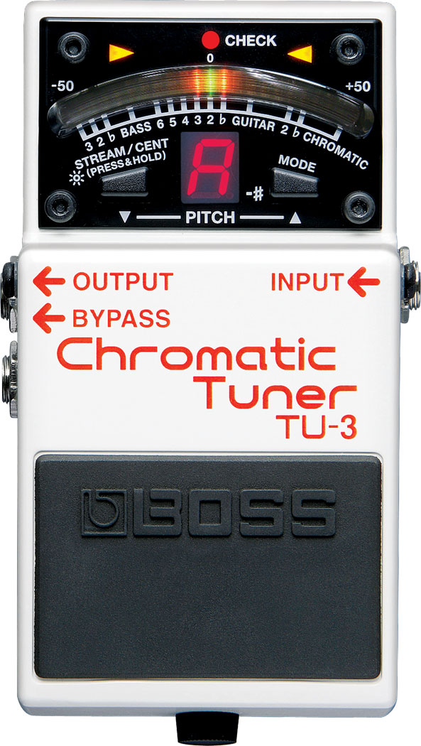 Power Meter Pedals >> BOSS - TU-3   Chromatic Tuner
