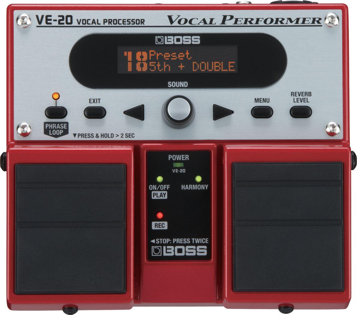 Recording Studios Sydney Boss VE-20