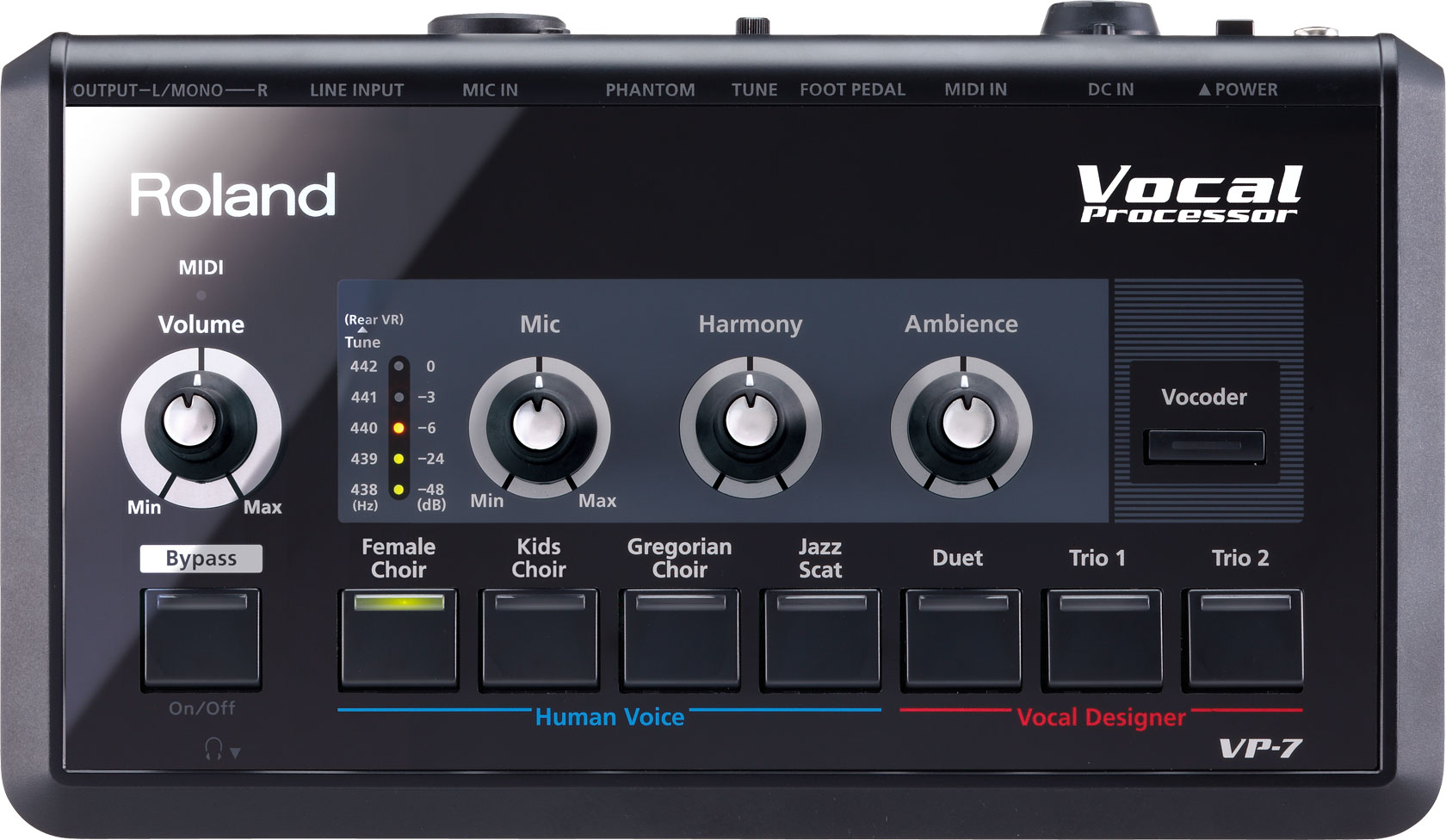 roland vp 7 vocal processor. Black Bedroom Furniture Sets. Home Design Ideas