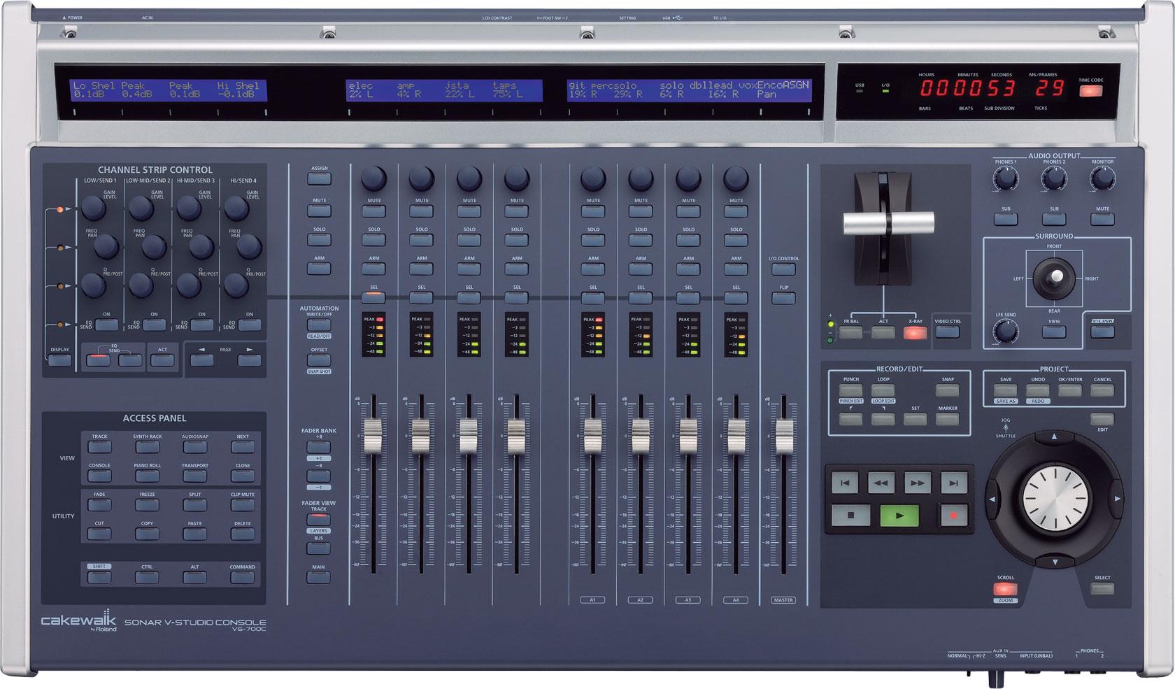 roland v studio 700 digital audio workstation. Black Bedroom Furniture Sets. Home Design Ideas