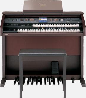 双排键电子管风琴