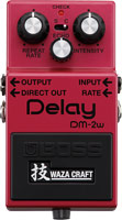 Boss DM-2W Waza Analog Delay pedal