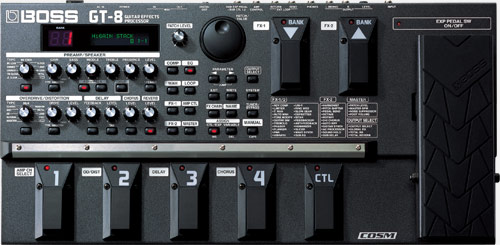 Boss Gt 8 Guitar Effects Processor
