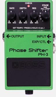 BOSS PH3 Phaser Pedal Stompbox