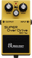 Boss SD-1W Waza Super Overdrive pedal