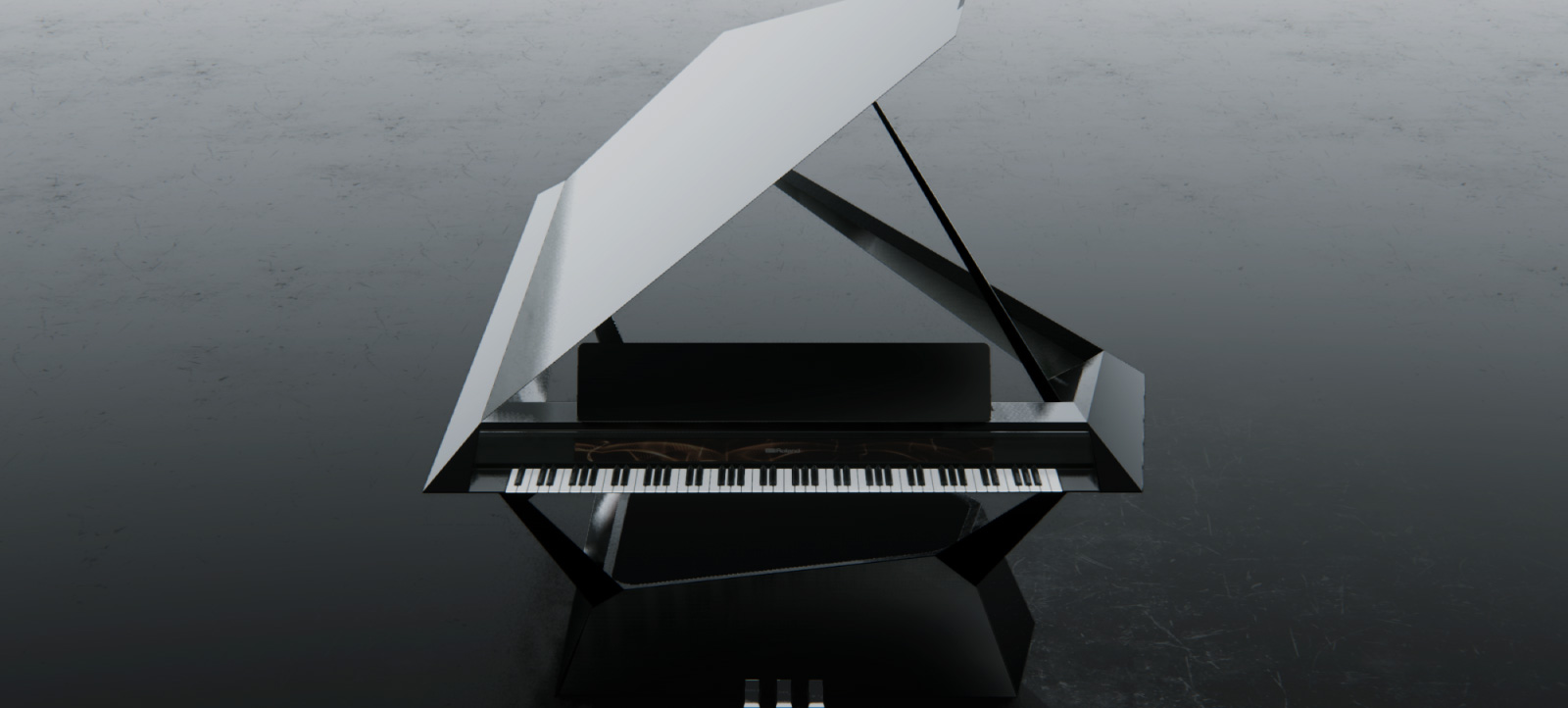 Facet Grand Piano