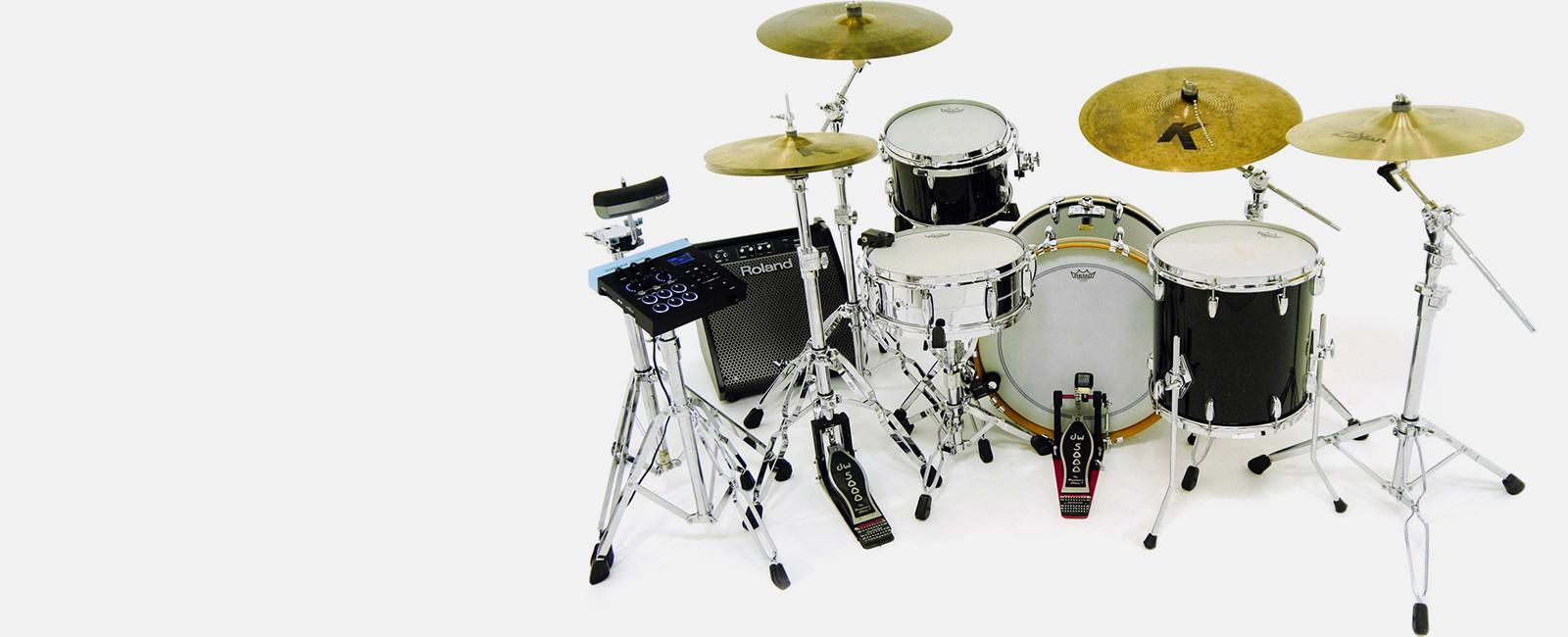 Hybrid<br>Drums