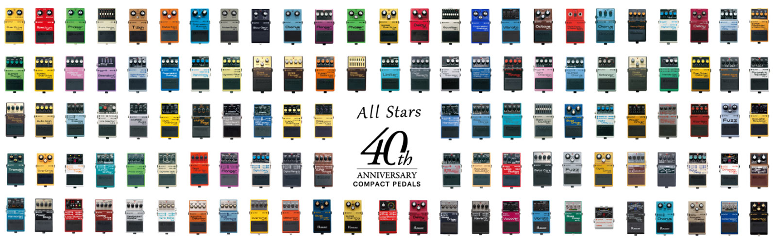 40th Anniversary Compact Pedals