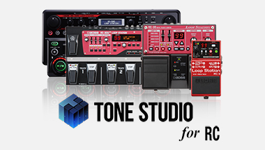 featured-content:BOSS Tone Studio for RC