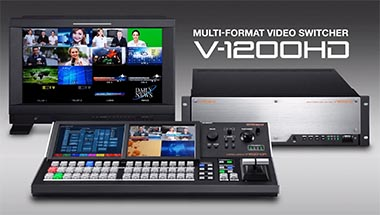 featured-product:Multi-Format Video Switcher V-1200HD