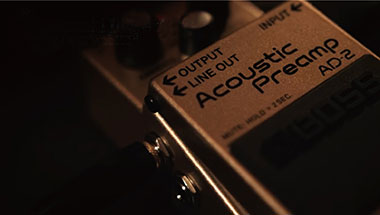 featured-video:AD-2 Acoustic Preamp