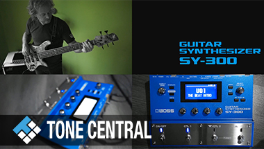 featured-video:BOSS TONE CENTRAL POP Synth Bass Collection by Tamas Barabas