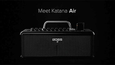 featured-video:KATANA-AIR Totally Wireless Guitar Amp System