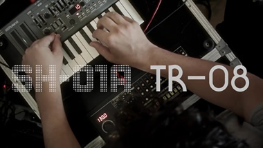 featured-video:Roland Boutique TR-08 & SH-01A: Mathew Jonson