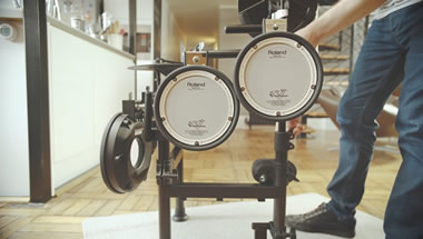 featured-video:Roland TD-1KPX2 V-Drums Portable Modelini Tanıyın!