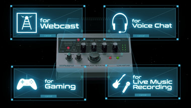 featured-video:STREAM STATION — USB audio interface for webcasting
