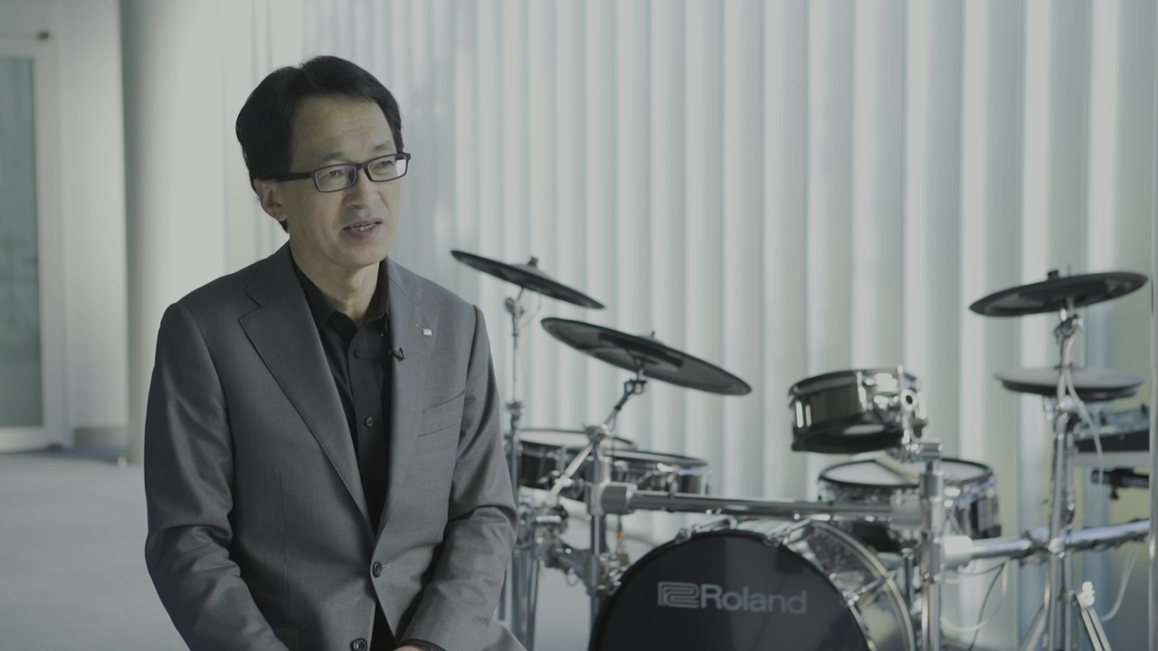 featured-video:Roland V-Drums 20th anniversary special message from Jun-ichi Miki
