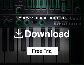 SYSTEM-1 Software Synth Trial