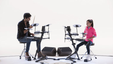 featured-video:Veja o desafio V-Drums com estudante
