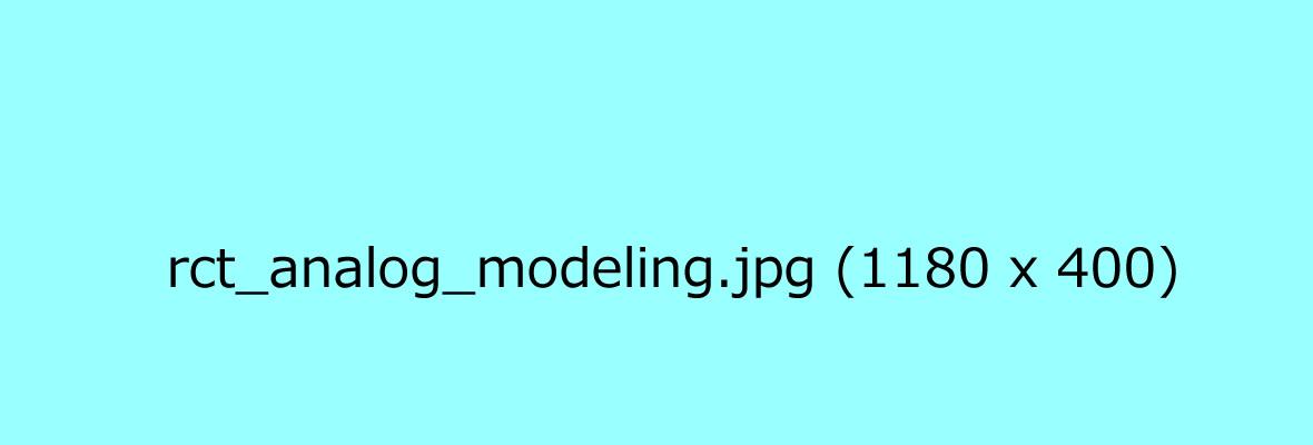 Analog_Modeling