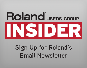 Roland Users Group INSIDER