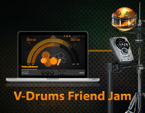 V-Drums Friend Jam(練鼓軟體)
