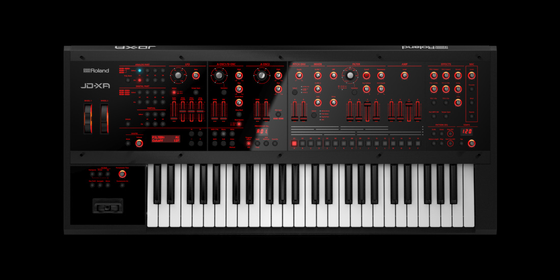 roland  digital crossover synthesizer