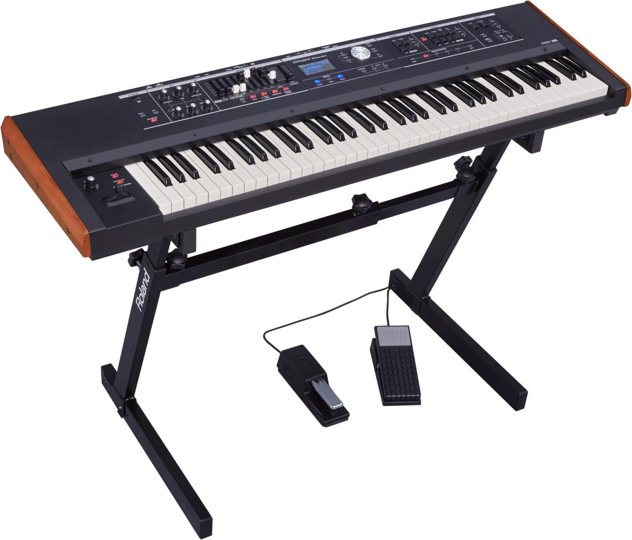 Roland India V Combo Vr 730 Live Performance Keyboard