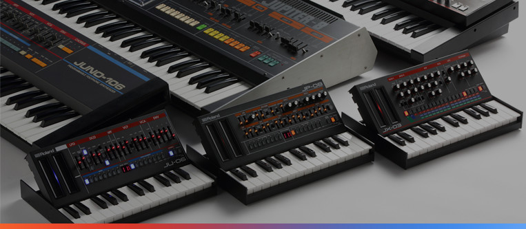 История серии Roland Boutique An Interview with the Legendary Developers of the JUPITER-8, JUNO-106, and JX-3P