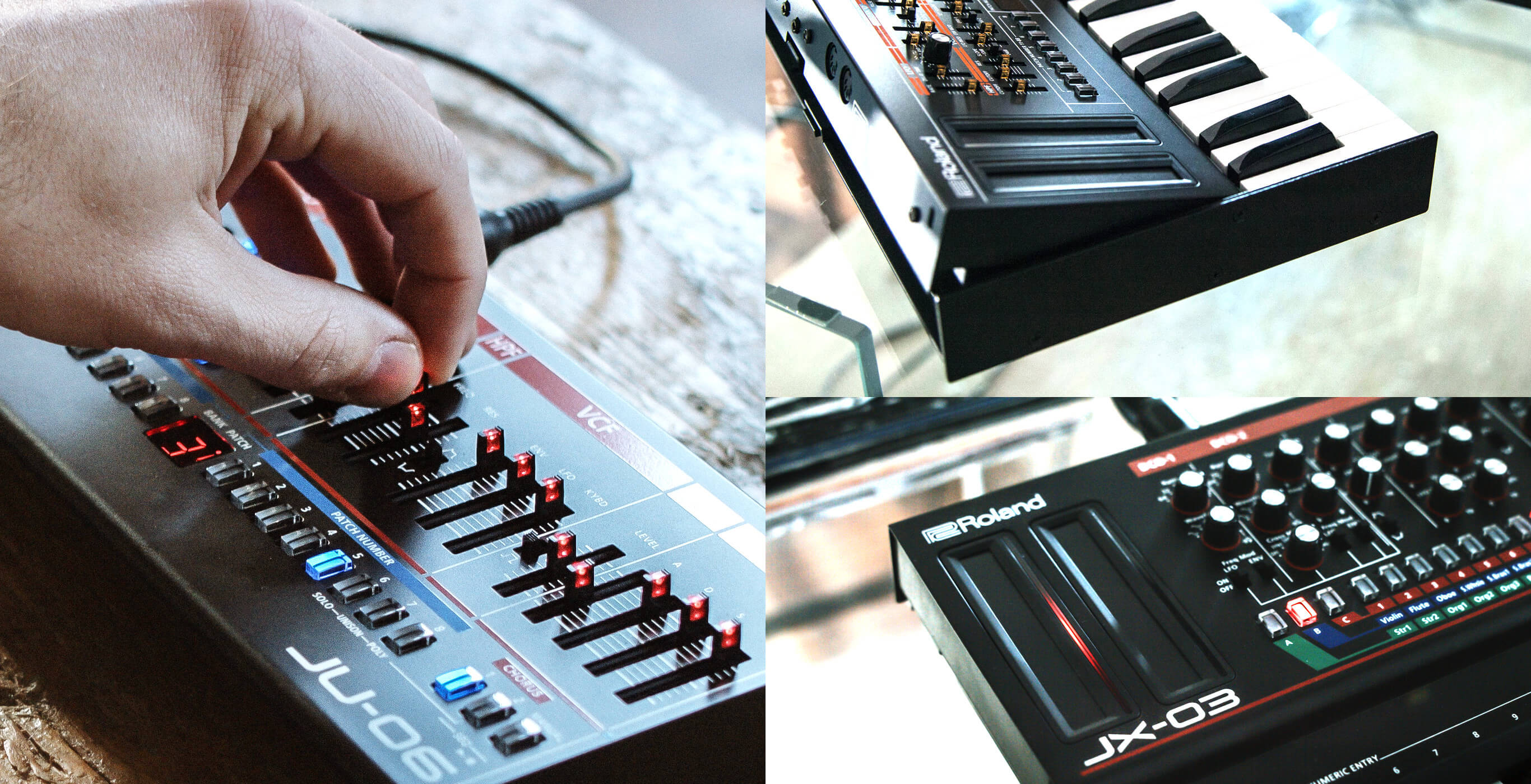 The Roland Boutique range is a series of limited-edition modules that faithfully recreates some of Roland's most legendary synths.