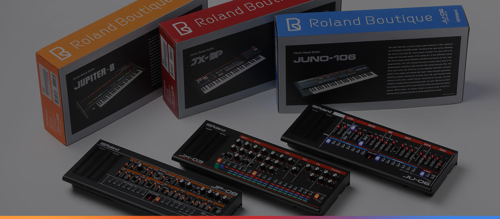 The Roland Boutique Series Story
