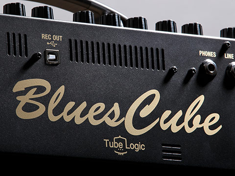 Blues Cube Tube Logic Logo
