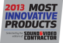 Top 30 Innovative Products 2013 Sound and Video Contractor - VR-50HD