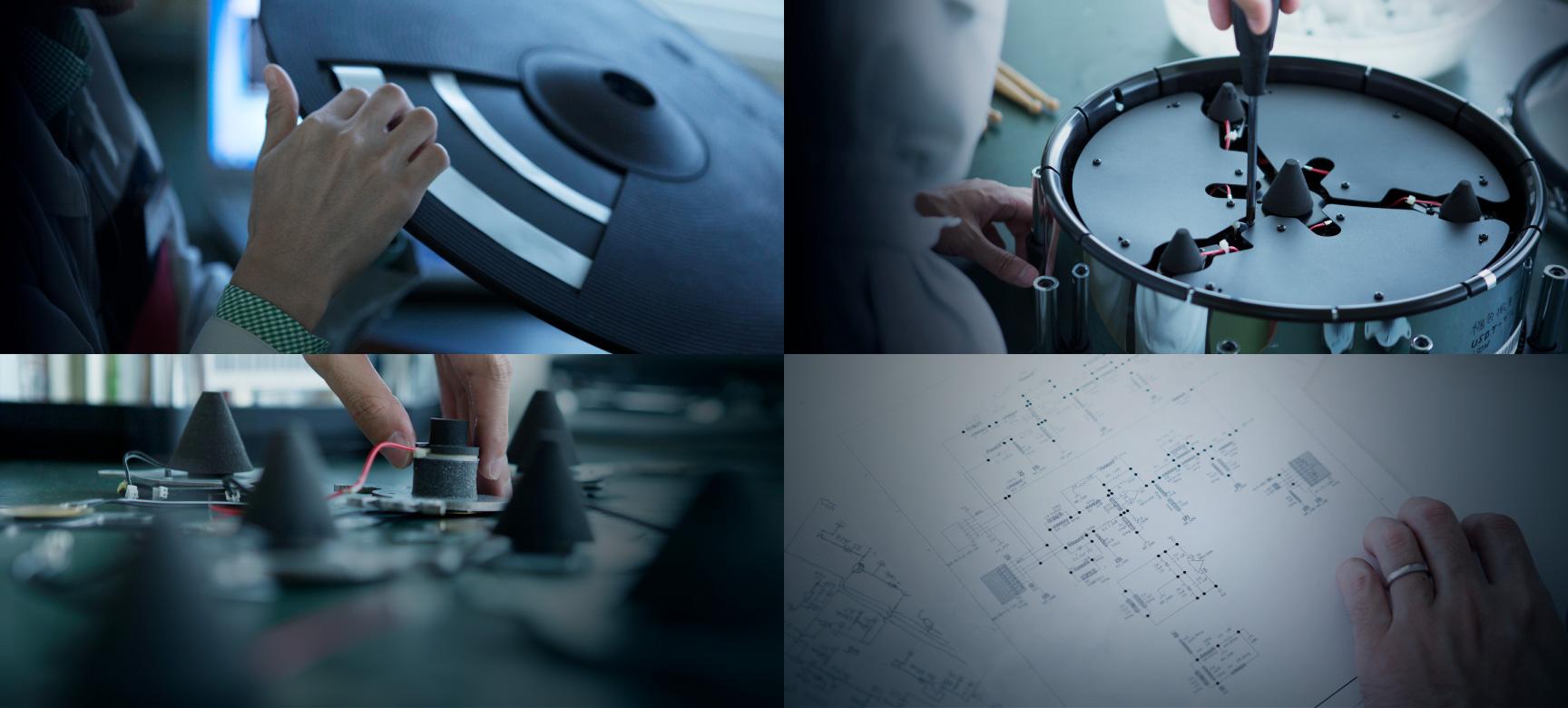 Innovation of V-Drums