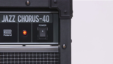 featured-video:JC-40 Jazz Chorus Guitar Amplifier